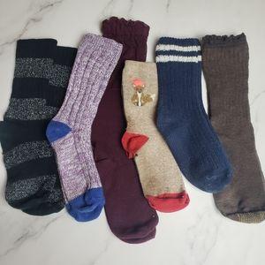 6 Pairs of Trouser Socks! - BUNDLE